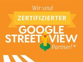 Wir sind zertifizierter Google Street View Partner!